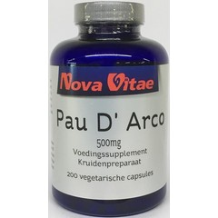 Nova Vitae Pau d arco 500 mg extract 5:1 (200 capsules)