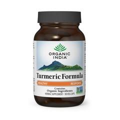 Organic India Turmeric formule kurkuma bio (90 capsules)