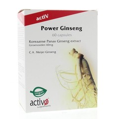 Activo Power ginseng (60 capsules)