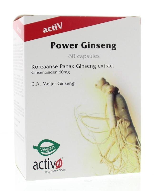 Activo Activo Power ginseng (60 capsules)