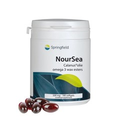 Springfield NourSea calanusolie omega 3 wax esters (180 softgels)