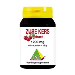 SNP Zure kers extract 1200 mg (60 capsules)