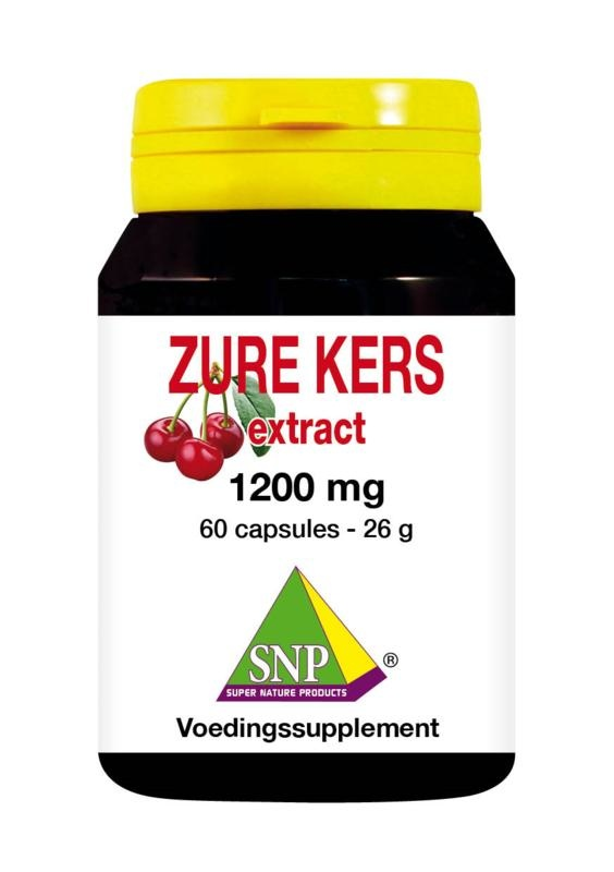 SNP SNP Zure kers extract 1200 mg (60 capsules)