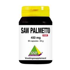 SNP Saw palmetto 450mg puur (90 capsules)