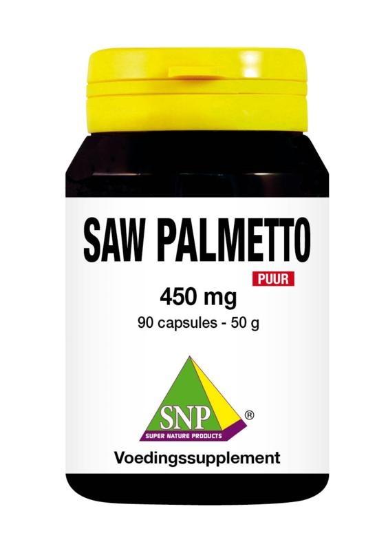 SNP SNP Saw palmetto 450mg puur (90 capsules)