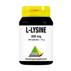SNP L-lysine 500mg (100 tabletten)