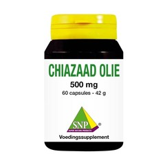 SNP Chiazaad olie 500 mg (60 capsules)