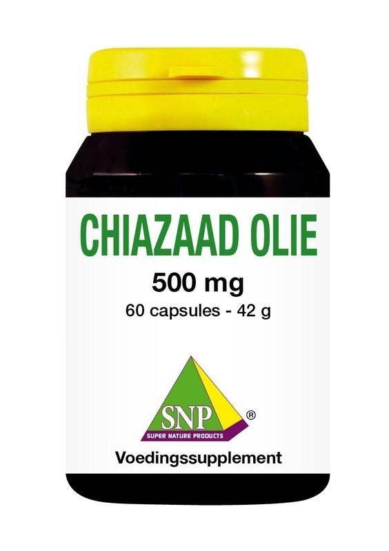 SNP SNP Chiazaad olie 500 mg (60 capsules)