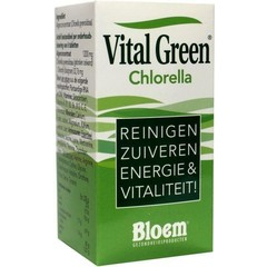 Bloem Chlorella vital green (200 tabletten)