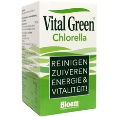Bloem Chlorella vital green (1000 tabletten)