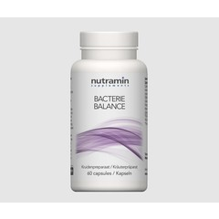 Nutramin Bacterie balance (60 capsules)