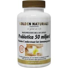 Golden Naturals Probiotica 50 miljard (90 capsules)