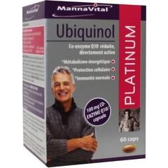 Mannavital Ubiquinol platinum (60 capsules)