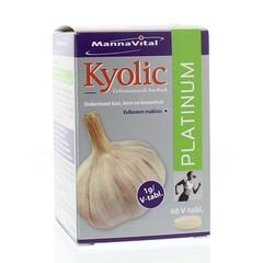 Mannavital Kyolic platinum (60 tabletten)