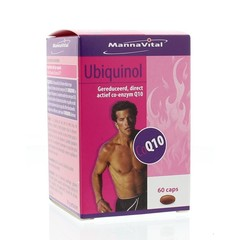 Mannavital Ubiquinol co-enzyme Q10 (60 capsules)