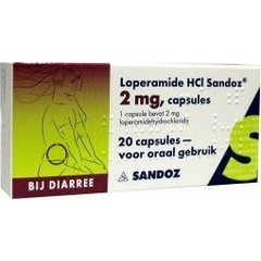 Sandoz Loperamide 2 mg (20 capsules)