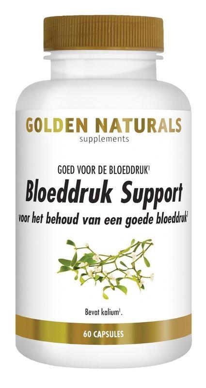 Golden Naturals Golden Naturals Bloeddruk support (60 capsules)