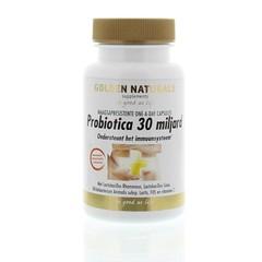 Golden Naturals Probiotica 30 miljard one a day (10 capsules)