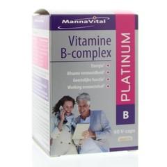 Mannavital Vitamine B complex platinum (60 vcaps)