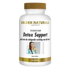 Golden Naturals Detox support (60 vcaps)