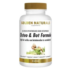 Golden Naturals Osteo & bot formule (90 vcaps)