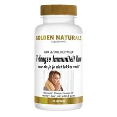 Golden Naturals 7 Daagse immuniteitskuur (21 capsules)