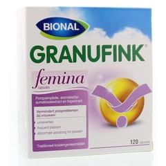Bional Granufink femina (120 capsules)
