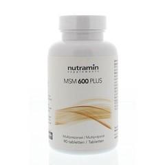 Nutramin MSM 600 plus (90 tabletten)