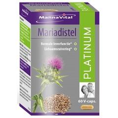 Mannavital Mariadistel platinum (60 vcaps)