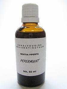 Natura Sanat Natura Sanat Mentha piperite / pepermunt tinctuur (50 ml)