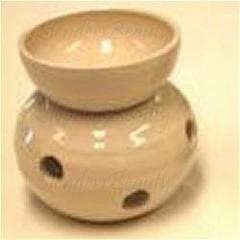 Volatile Aromalamp bol ecru glans (1 stuks)