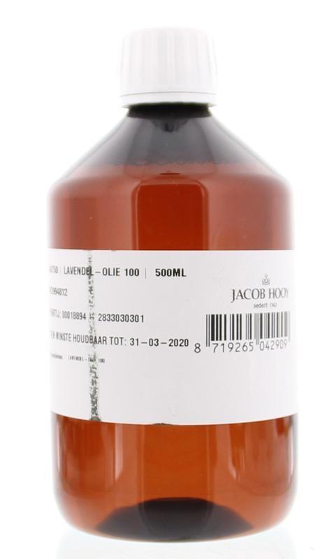 Jacob Hooy Jacob Hooy Lavendel olie (500 ml)
