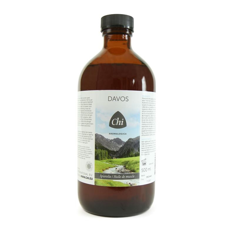CHI CHI Davos spier en verkoudheidsolie (500 ml)