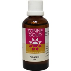 Zonnegoud Amandel olie zoet (50 ml)