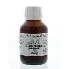 Cruydhof Zwarte kummel olie koudgeperst (100 ml)