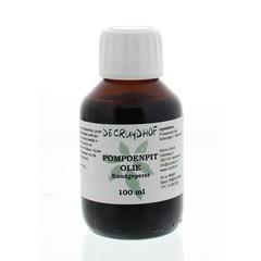 Cruydhof Pompoenpitolie koudgeperst (100 ml)