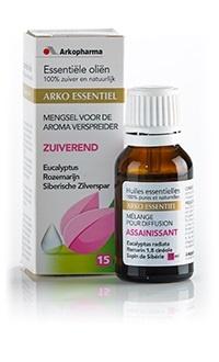 Arko Essentiel Arko Essentiel Essentiele olie zuiverend (15 ml)