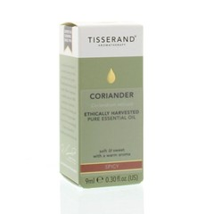 Tisserand Coriander ethically harvested (9 ml)