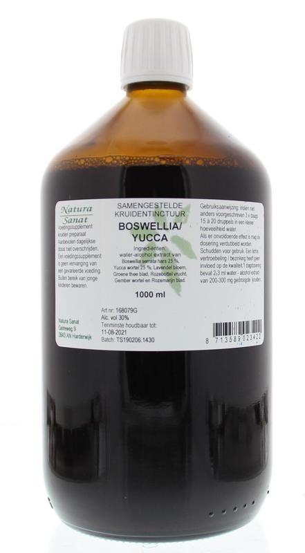 Natura Sanat Natura Sanat Boswellia / yucca complex tinctuur (1 liter)