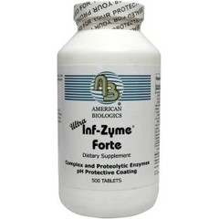 Am Biologics Infla zyme forte ultra (500 tabletten)