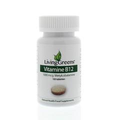 Livinggreens Vitamine B12 methylcobalamine 1000 mcg (100 tabletten)