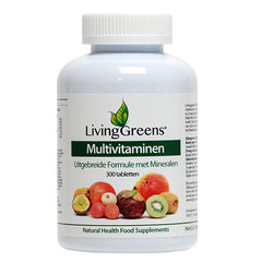 Livinggreens Multi vitaminen & mineralen antioxidant (300 tabletten)