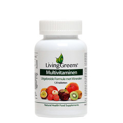 Livinggreens Multi vitaminen & mineralen antioxidant (120 tabletten)