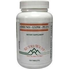 Nutri West Adreno lyph plus (120 tabletten)