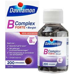 Davitamon Vitamine B complex forte (200 dragees)