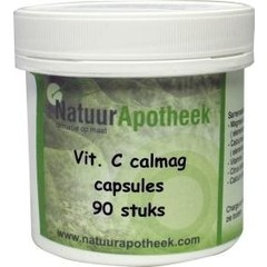 Natuurapotheek Vitamine C calmag 1000 natuurlijk (90 capsules)