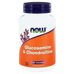 NOW Glucosamine & chondroitine (60 tabletten)