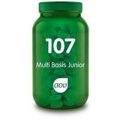 AOV 107 Multi basis junior (60 kauwtabletten)