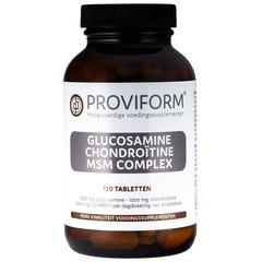 Proviform Glucosamine chondroitine complex MSM (120 tabletten)