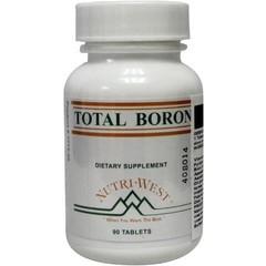 Nutri West Total boron (90 tabletten)